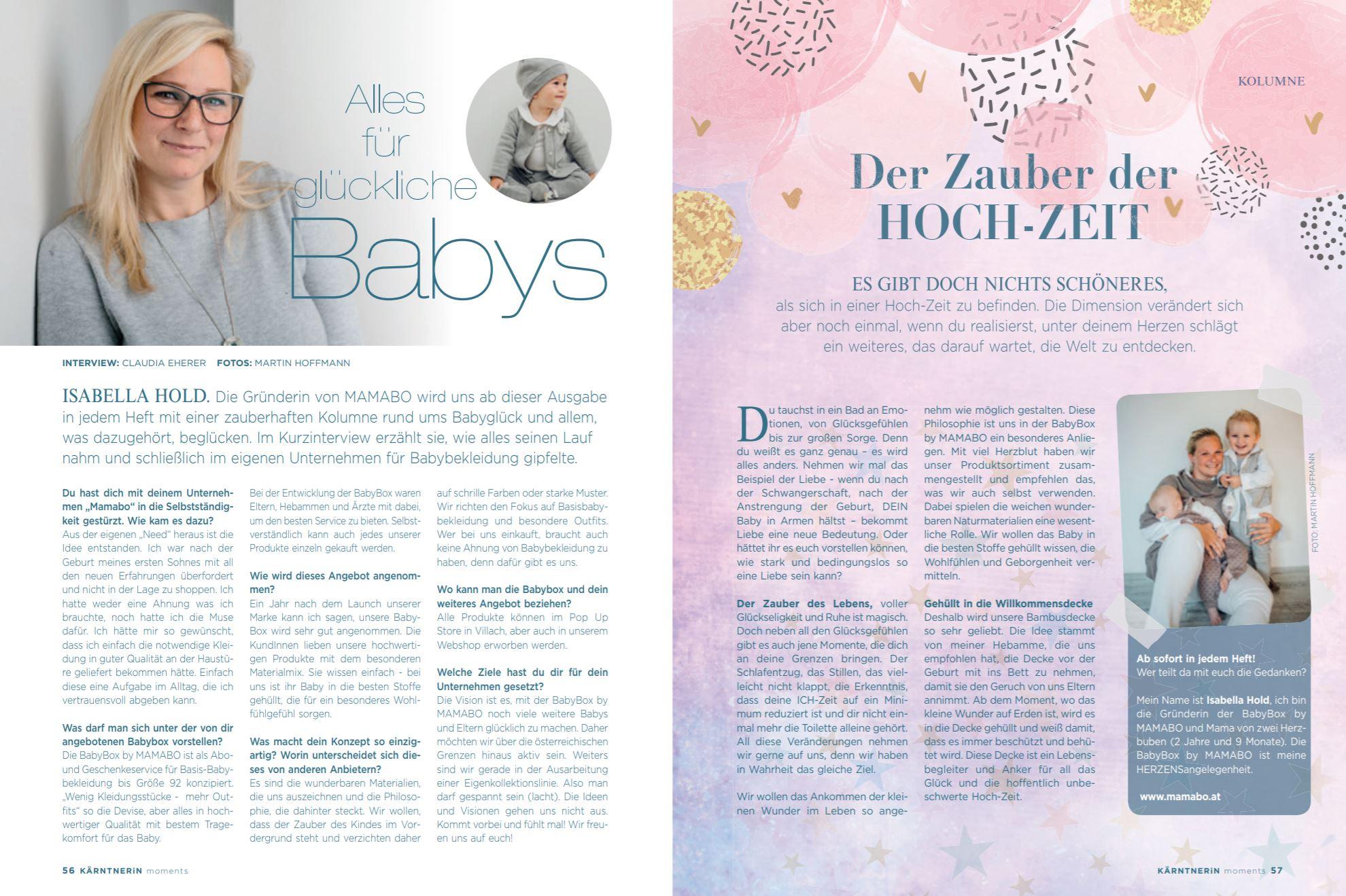 Alles für glückliche Babys – Interview