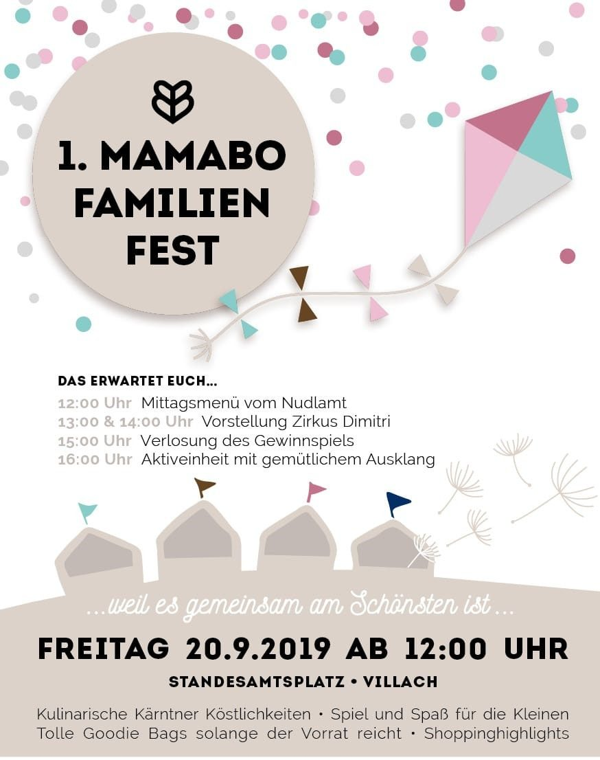 1. MAMABO Familienfest
