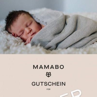 MAMABO Gutschein Muster