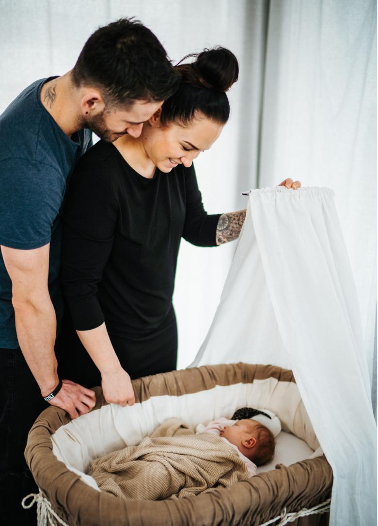 Wie lässt sich das Baby von COVID19 beeindrucken?