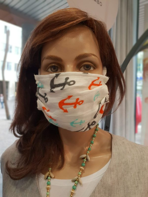 Mund und Nasenschutz Erwachsene Anker